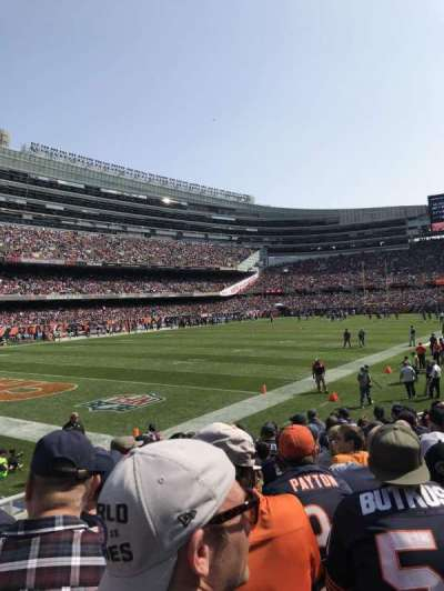 Soldier Field, section: 146, row: 11, seat: 8