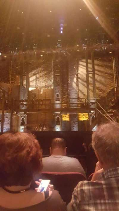 pantages theatre (hollywood), section: OrchCenter, row: C, seat: 106