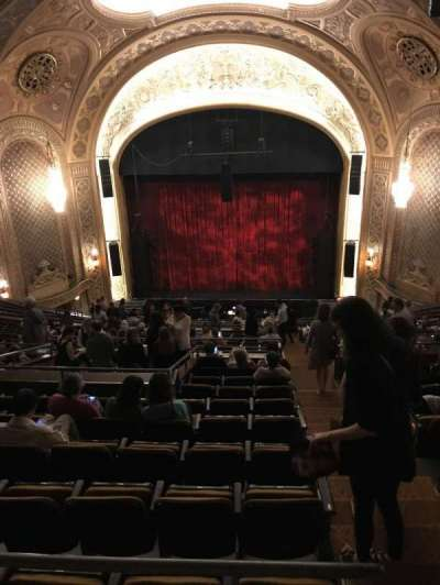 The Paramount Theatre, section: Mez33, row: S, seat: 10