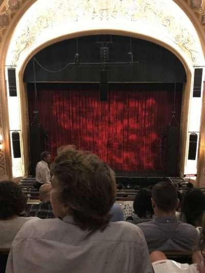 The Paramount Theatre, section: Mez13, row: E, seat: 8