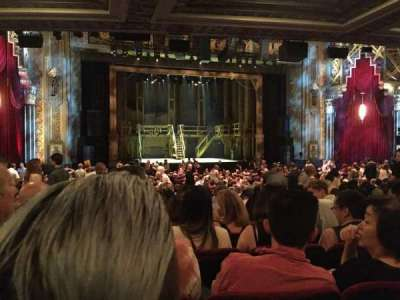 Pantages Theatre (Hollywood), section: Orchestra LC, row: SS, seat: 305