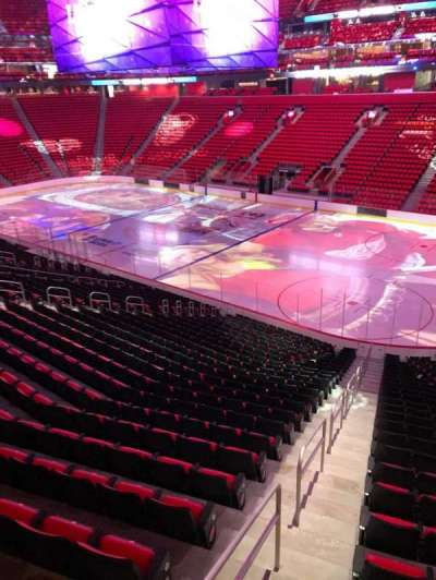Little Caesars Arena, section: 106, row: 25, seat: 1