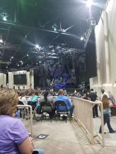 Starplex Pavilion, section: 200, row: F, seat: 2