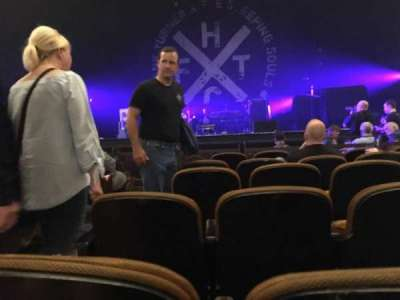 Paramount Theatre (Seattle), section: Orchestra, row: F, seat: 2