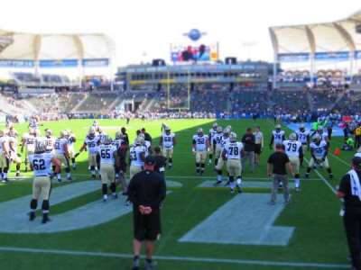 StubHub Center, section: 120, row: B, seat: 8