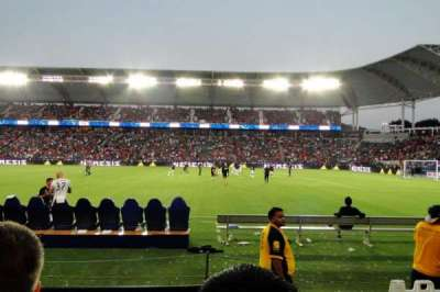 StubHub Center, section: 109, row: B, seat: 16