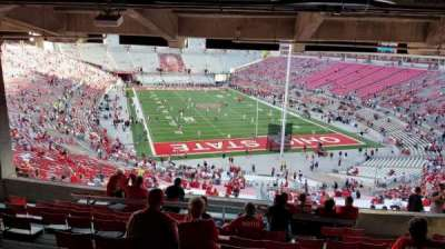 Ohio Stadium section 4B