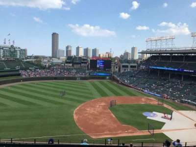 Wrigley Field, section: 511, row: 1, seat: 103