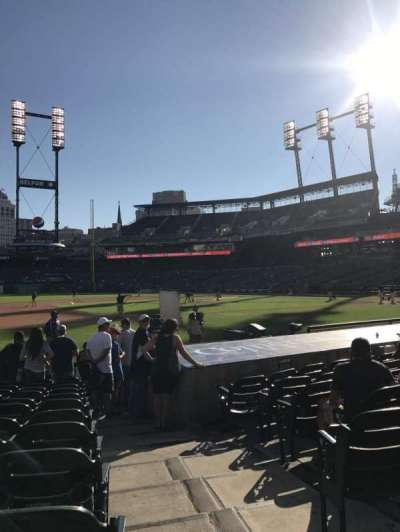 Comerica Park, section: 136, row: 15, seat: 1
