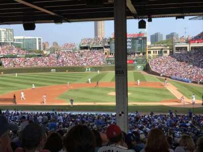 Wrigley Field, section: 215