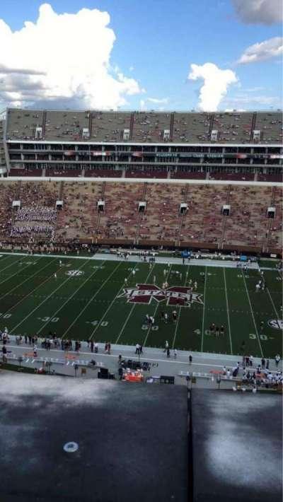 Davis Wade Stadium, section: 306, row: 1, seat: 9