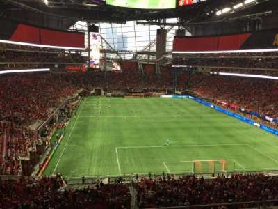 Mercedes-Benz Stadium, section: 226, row: 5, seat: 9
