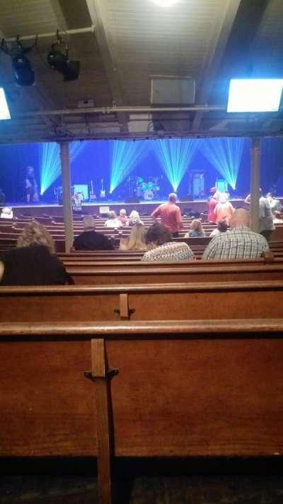 Ryman Auditorium, section: MF-5, row: W, seat: 10