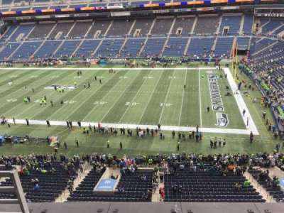 CenturyLink Field, section: 331, row: B, seat: 18
