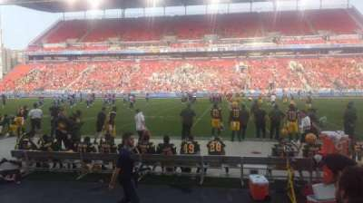 BMO Field section 122