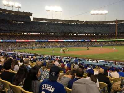 Dodger Stadium, section: 36FD, row: P, seat: 1