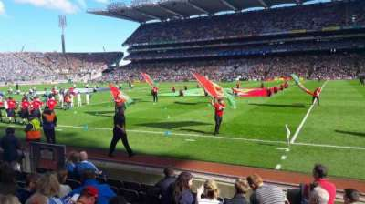 Croke Park section 329 hoganstand lower