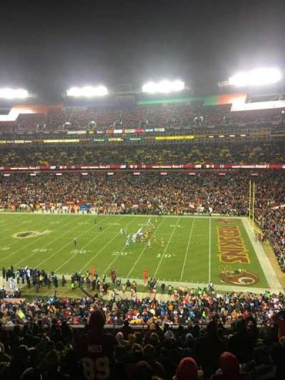 FedEx Field, section: 318, row: 16, seat: 10