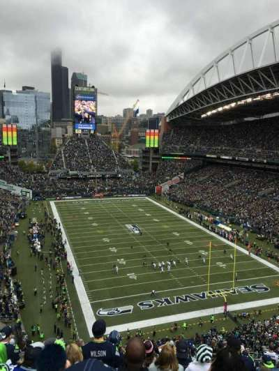 CenturyLink Field, section: 325, row: M, seat: 10