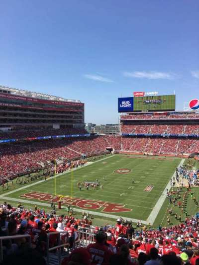 Levi's Stadium, section: 226, row: 21, seat: 25
