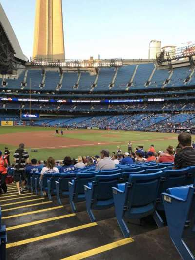 Rogers Centre, section: 129L, row: 21, seat: 101