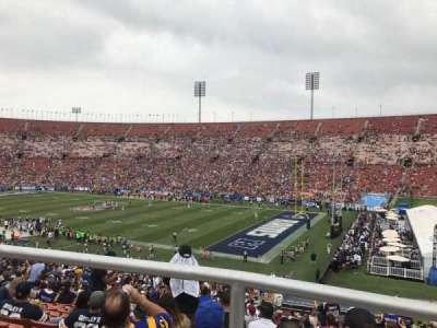 Los Angeles Memorial Coliseum, section: 3L, row: 44, seat: 7