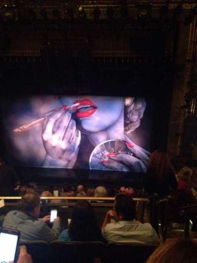 Nederlander Theatre, section: Mezz, row: K, seat: 101
