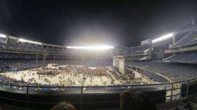 Qualcomm Stadium, section: C39 Club level, row: 3, seat: 12
