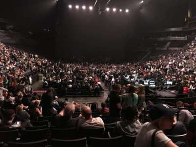 Barclays Center, section: 17, row: 11, seat: 4