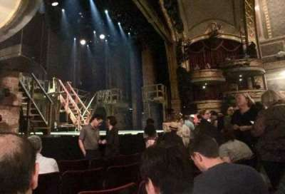 Richard Rodgers Theatre, section: ORCH L, row: D, seat: 17