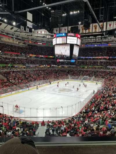 United Center, section: 206, row: 2, seat: 11