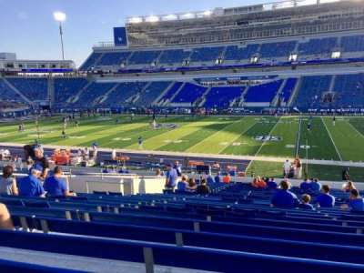 Kroger Field, section: 8, row: 30, seat: 13