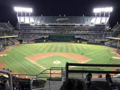 Oakland Alameda Coliseum, section: 316, row: 8, seat: 25
