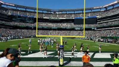 MetLife Stadium, section: 126, row: 3, seat: 12