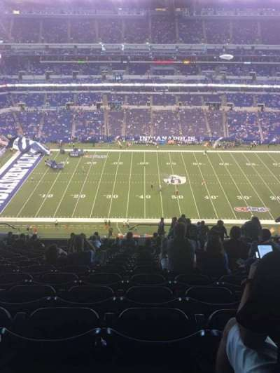 Lucas Oil Stadium section 514