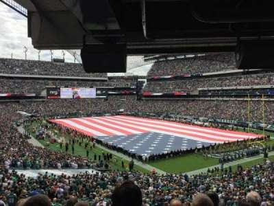Lincoln Financial Field, section: NETER1, row: 5, seat: 37