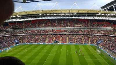 Wembley Stadium, section: 525, row: 18, seat: 354