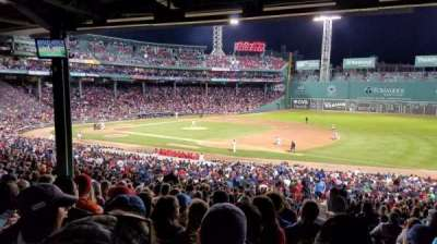 Fenway Park, section: Grandstand 13, row: 12, seat: 1