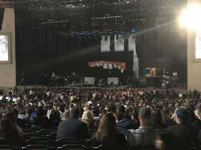 Mattress Firm Amphitheatre, section: 301, row: A, seat: 32