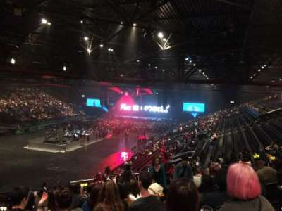 Genting Arena, section: Block 7, row: YC, seat: 197