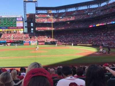 Busch Stadium, section: 155, row: 4, seat: 6