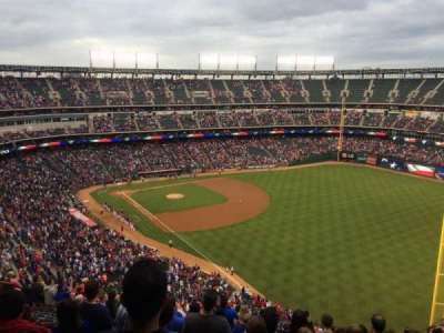 Globe Life Park in Arlington, section: 342, row: 17, seat: 9