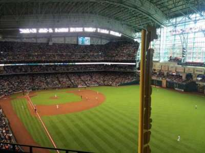 Minute Maid Park, section: 436, row: 3, seat: 1