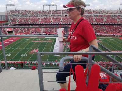 TDECU Stadium, section: 308, row: 1, seat: 26