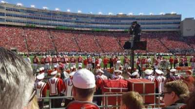 Camp Randall Stadium, section: F, row: 8, seat: 24