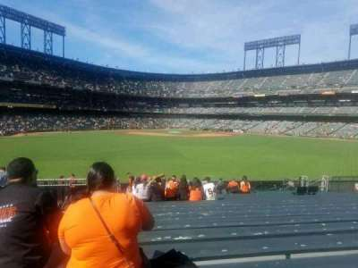 AT&T Park, section: 143, row: 21, seat: 23