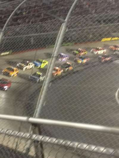 Bristol Motor Speedway, section: Daryl waltrip, row: 2, seat: 9-10