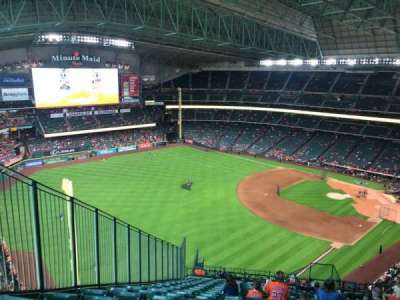 Minute Maid Park, section: 405, row: 18, seat: 4