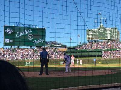 Wrigley Field, section: 22, row: B, seat: 4