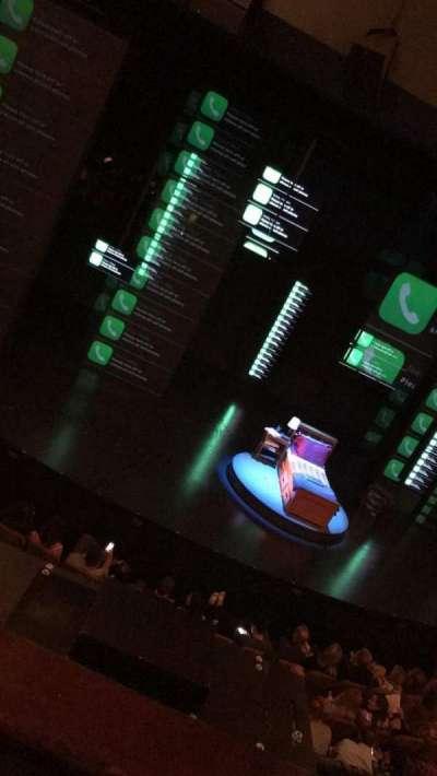 Music Box Theatre, section: Mezz, row: B